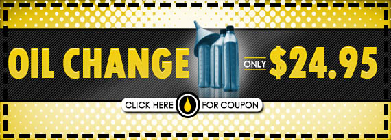 Oil Change Only 24.95 Up to 5 QT Regular Conventional Oil