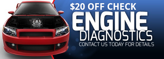 $20 off check engine light diagnostic